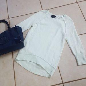Cynthia Rowley Mint Green Sweater Angora S